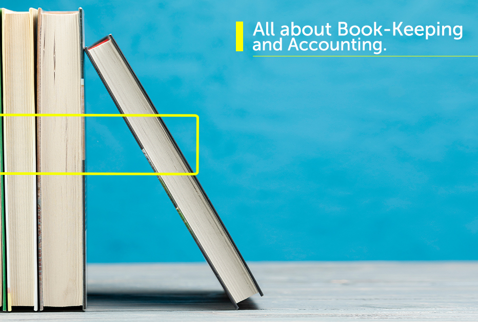all about book keeping and accounting